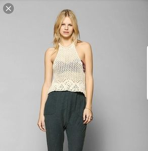 *Staring at Stars UO crochet crop top XS